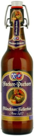 Hacker-Pschorr Münchner Kellerbier - Anno 1417