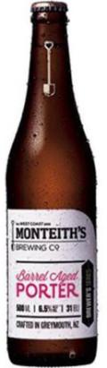 Monteiths Brewer's Series Barrel Aged Porter