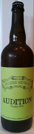 Sierra Nevada Audition Double IPA