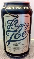 Happy Joe Dry Apple Cider