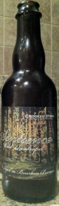 Crooked Stave Sentience (Bourbon Barrel)