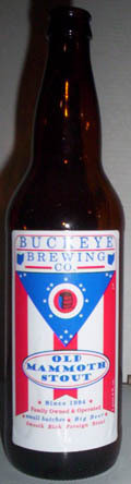 Buckeye Old Mammoth Stout