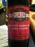 Iron Hill Dark Humor - Ruby Port