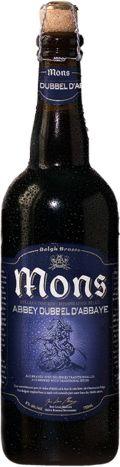 Belgh Brasse Mons Abbey Dubbel