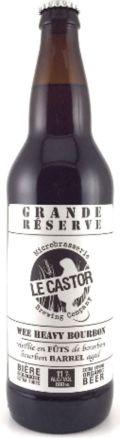 Le Castor Wee Heavy Grande Réserve (Bourbon)