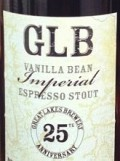 Great Lakes Brewery 25th Anniversary Imperial Vanilla Bean Espresso Stout
