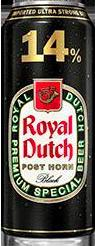 Royal Dutch Post Horn Black 14% Ultra Strong