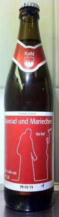 Meinel-Bräu Konrad und Mariechen