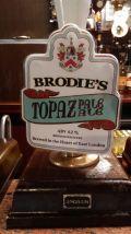 Brodies Topaz Pale Ale