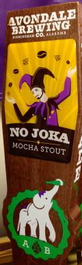 Avondale No Joka Mocha Stout