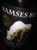 Ramses Bier Stout met Hout