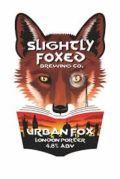 Slightly Foxed Urban Fox