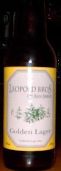 Leopold Brothers Golden Lager