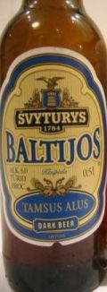 Švyturys Baltijos Tamsus Alus (Dark Beer)