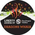 Liberty Dragon's Whaia Golden Chilli Ale