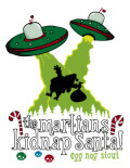 Spring House The Martians Kidnap Santa Egg Nog Stout