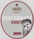 Clarence & Fredericks Redcurrant Stout