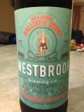 Westbrook 2nd Anniversary Cap'n Skoon's Ballistic Stout