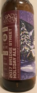 Crazy Mountain Bridge Street Holiday Ale