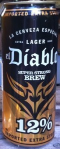 El Diablo Super Strong Brew Beer