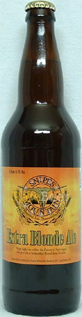 Snipes Mountain Extra Blonde Ale