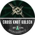Green Beacon Cross Knot Kolsch