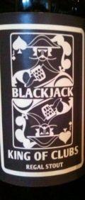 Blackjack King of Clubs
