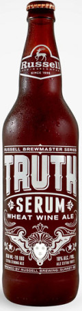 Russell Brewmaster Series Truth Serum Wheat Wine Ale