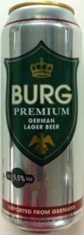 Burg Premium German Lager 5.5%