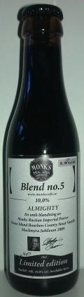 Monks Café Blend no.5 Almighty