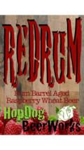 HopDog BeerWorks Redrum Rum Barrel-aged Wheat Beer