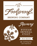 Foolproof Revery Russian Imperial Stout