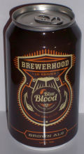 Blue Blood Brewerhood Brown IPA