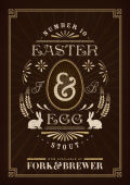Fork & Brewer Easter Egg Chocolate Stout
