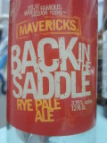 Half Moon Bay Mavericks Back In The Saddle Rye Pale Ale