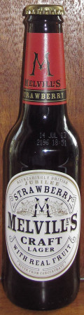 Melville's Strawberry Craft Lager