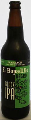 Karbach El Hopadillo Negro Black IPA