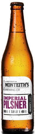Monteiths Brewer's Series Imperial Pilsner
