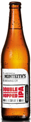 Monteiths Brewer's Series Double Hopped IPA