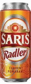Šariš Radler Červený Pomaranč