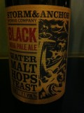 Storm&Anchor Black IPA