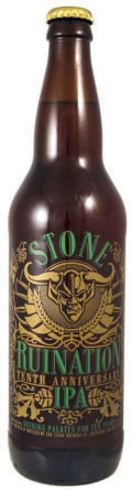Stone Ruination 10th Anniversary IPA