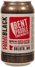 Bent Paddle Cold Press Black Ale