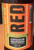 Davidson Brothers Irish Red