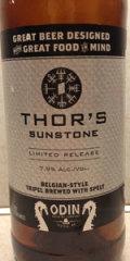 Odin Thor's Sunstone