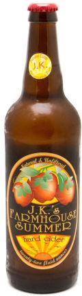 J.K.'s Farmhouse Summer Hard Cider