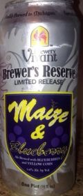 Brewery Vivant Maize and Blueberry