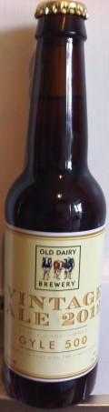 Old Dairy Vintage Ale 2012