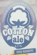 Plevnan Cotton Ale Second edition (2013)
