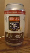 Red Leg Blue Nose Brown